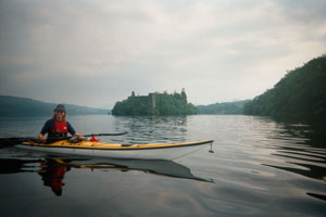 Loch Awe Sea kayaking expeditition