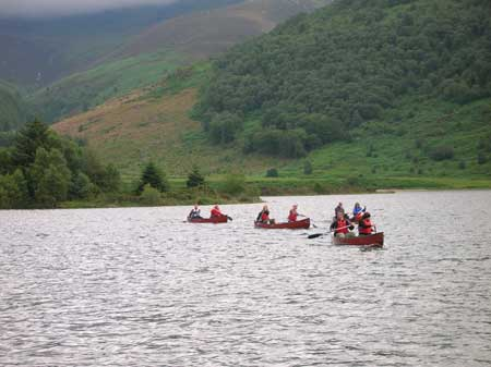 Mastering the art of single canadian canoes 'Wid Ennerdale'